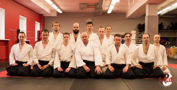 2015 Ühistreening Tartu Aikidoklubiga Tallinnas (märts)